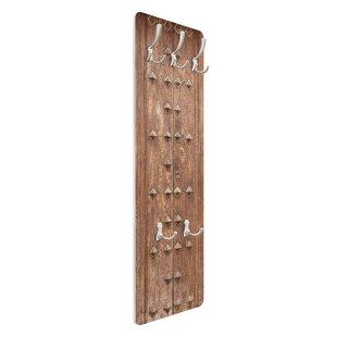 Rustic Spanish Door Wall Mounted Coat Rack By Symple Stuff