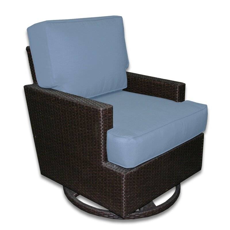 Signature Swivel Rocking Chair With Cushions