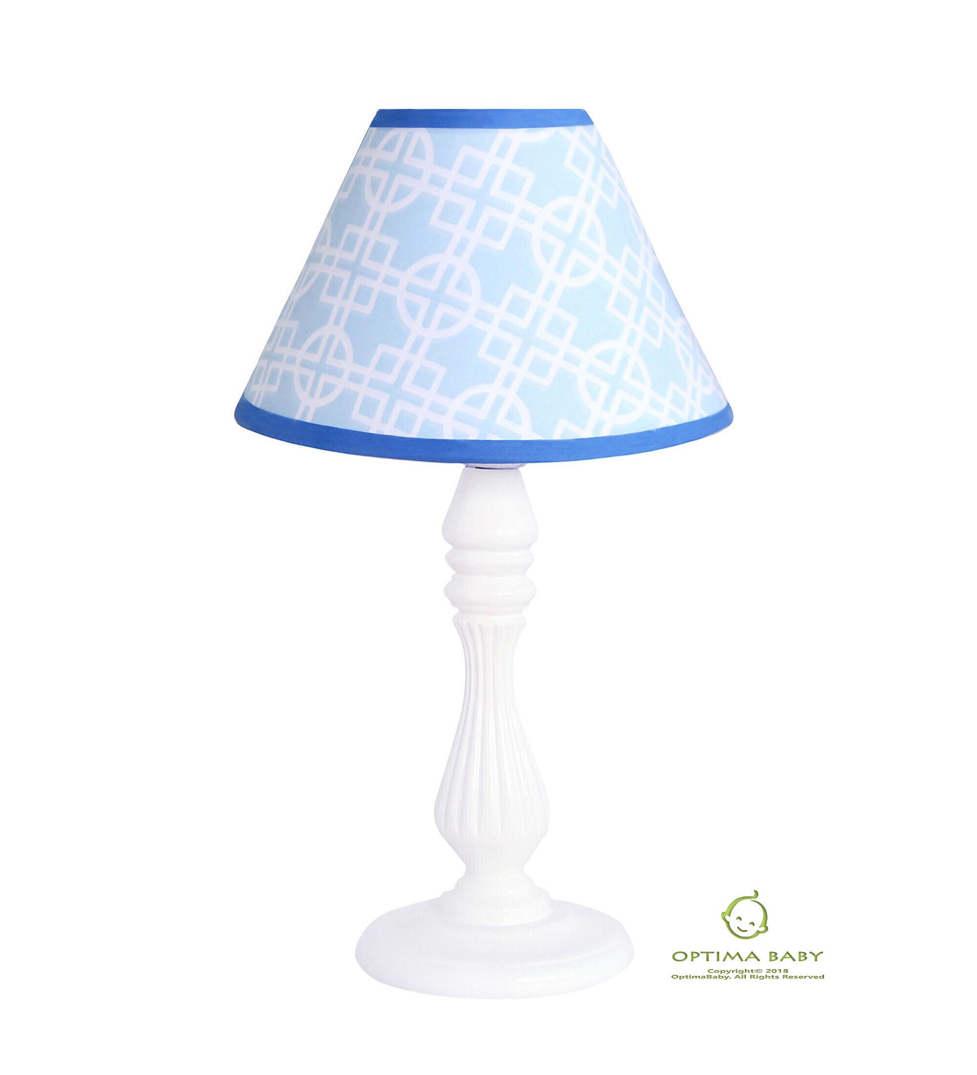 Harriet Bee Enchanted Woodland Forest Animals 10 Linen Bell Lamp