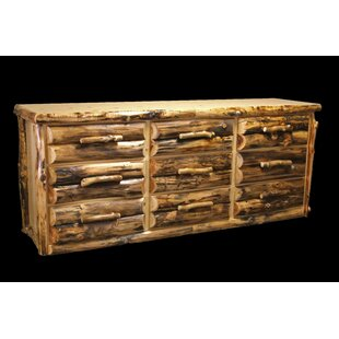 Read Reviews Amias 9 Drawer Dresser by Millwood Pines