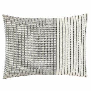 Akira Shibori Stitching Lumbar Pillow