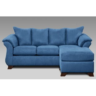 Matzke Blue Sofa chaise