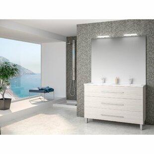 Rupert 1200mm Free Standing Double Vanity By Belfry Bathroom
