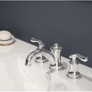 Symmons Winslet Widespread Bathroom Faucet with Drain Assembly