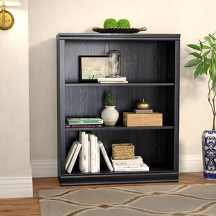 Top Caines 3-Shelf Bookcase By Andover Mills