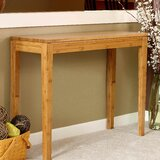 Guifford Bamboo Console Table by Winston Porter