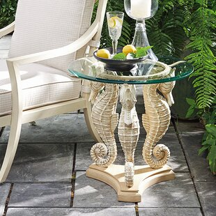 Alfresco Living Sea Horse Side Table