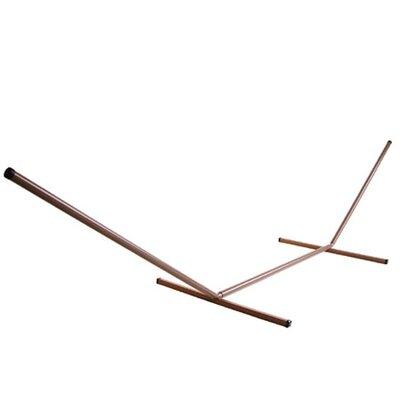 Beachcrest Home Lawson Dolan Tubular Steel Hammock Stand Color: Bronze