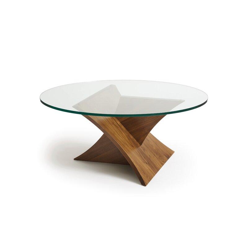 Copeland Furniture Planes Glass Top Coffee Table Wayfair
