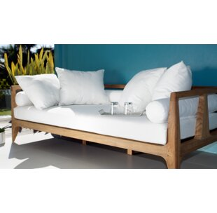 OASIQ Limited Teak Patio Daybed with Cushions