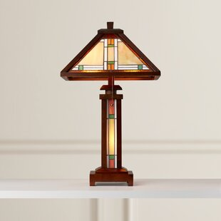 Metcalf 25.6 H Table Lamp with Empire Shade