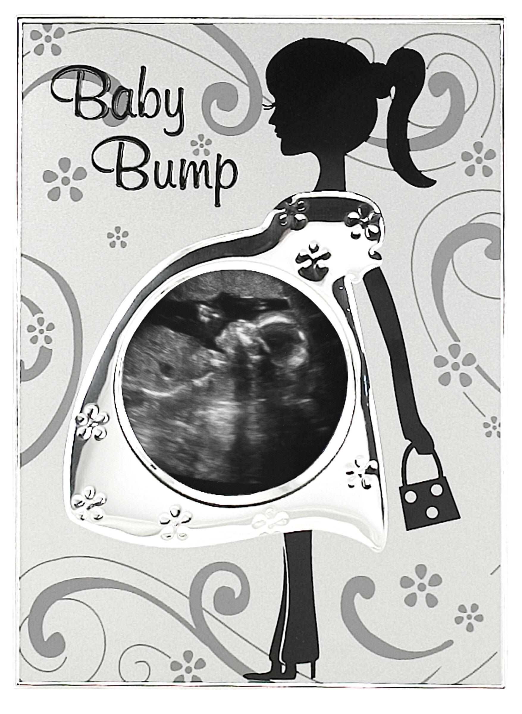 Malden Baby Bump Sonogram Picture Frame & Reviews | Wayfair
