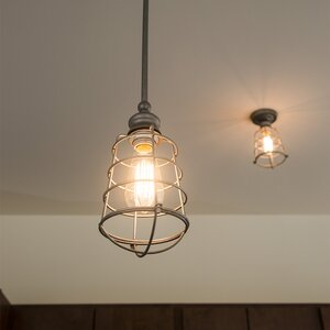 Leda 1-Light Mini Pendant
