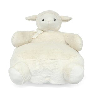 Sheep Figural Plush Kids Chair by Heritage Kids