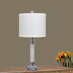 Powar Smooth Column 26 Table Lamp (Set of 2)