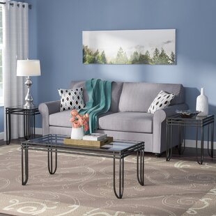 3 pc coffee table set wayfair