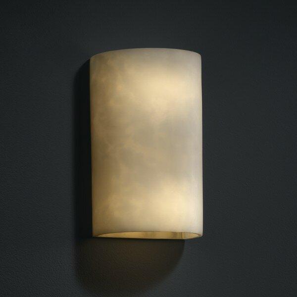 Orren Ellis Clouds 1 Light Wall Sconce Wayfair