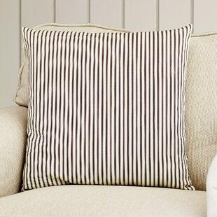 Lilah Stripes Cotton Throw Pillow