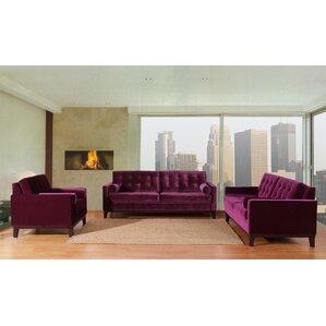 Velvet Living Room Sets Youll Love Wayfair