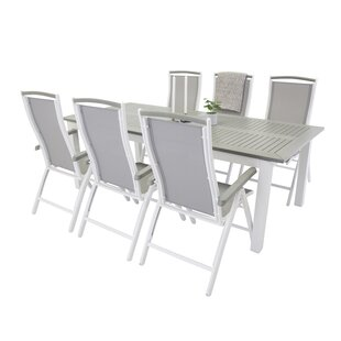 Jayesh Extendable Dining Set With 6 Chairs By Sol 72 Outdoor