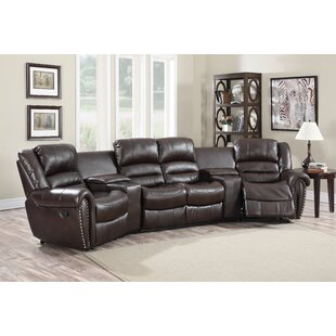 Wildon Home ® Abbie Home Theater Recliner (Row of 4)