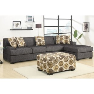 Arroyo Reversible Sectional with Ottoman by A&J Homes Studio