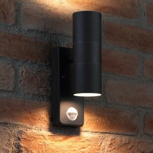 Gadsden LED Outdoor Sconce With Motion Sensor By Sol 72 Outdoor