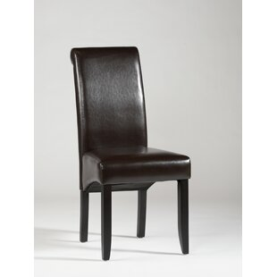 Chintaly Imports Roll Back Parsons Chair (Set of 2)