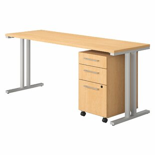 400 Series 2 Piece Desk Office Suite by Bush Business Furniture Read Reviews