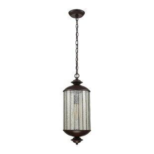 Yarmouth 1-Light Cylinder Pendant by Rosecliff Heights