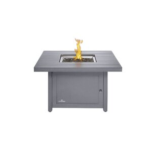 Hamptons Aluminum Propane/Natural Gas Fire Pit Table