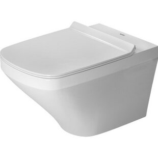 Duravit DuraStyle Dual Flush Elongated Toilet Bowl