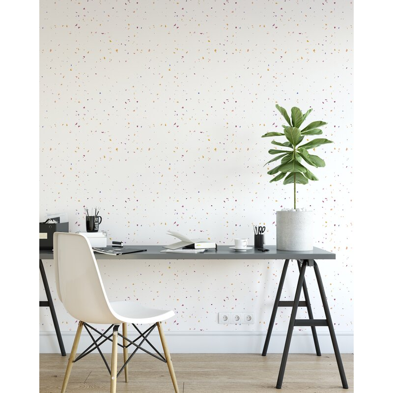 Ivy Bronx Sistrunk Prism 16 5 L X 48 W Wallpaper Roll Wayfair