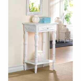 Zingz & Thingz Carved End Table With Storage