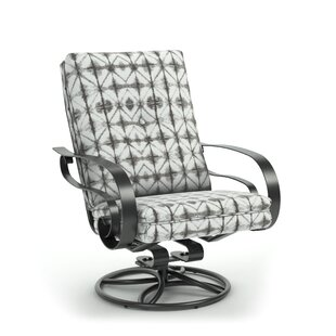 Ivory Swivel Patio Chair with Sunbrella Cushions by Bloomsbury Market