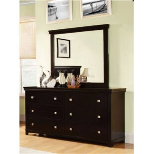 Crissyfield 6 Drawer Double Dresser
