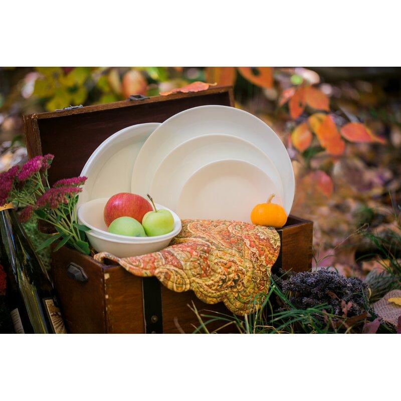 be9cd02fd0c0 Corelle Livingware Winter Frost 38 Piece Dinner Set
