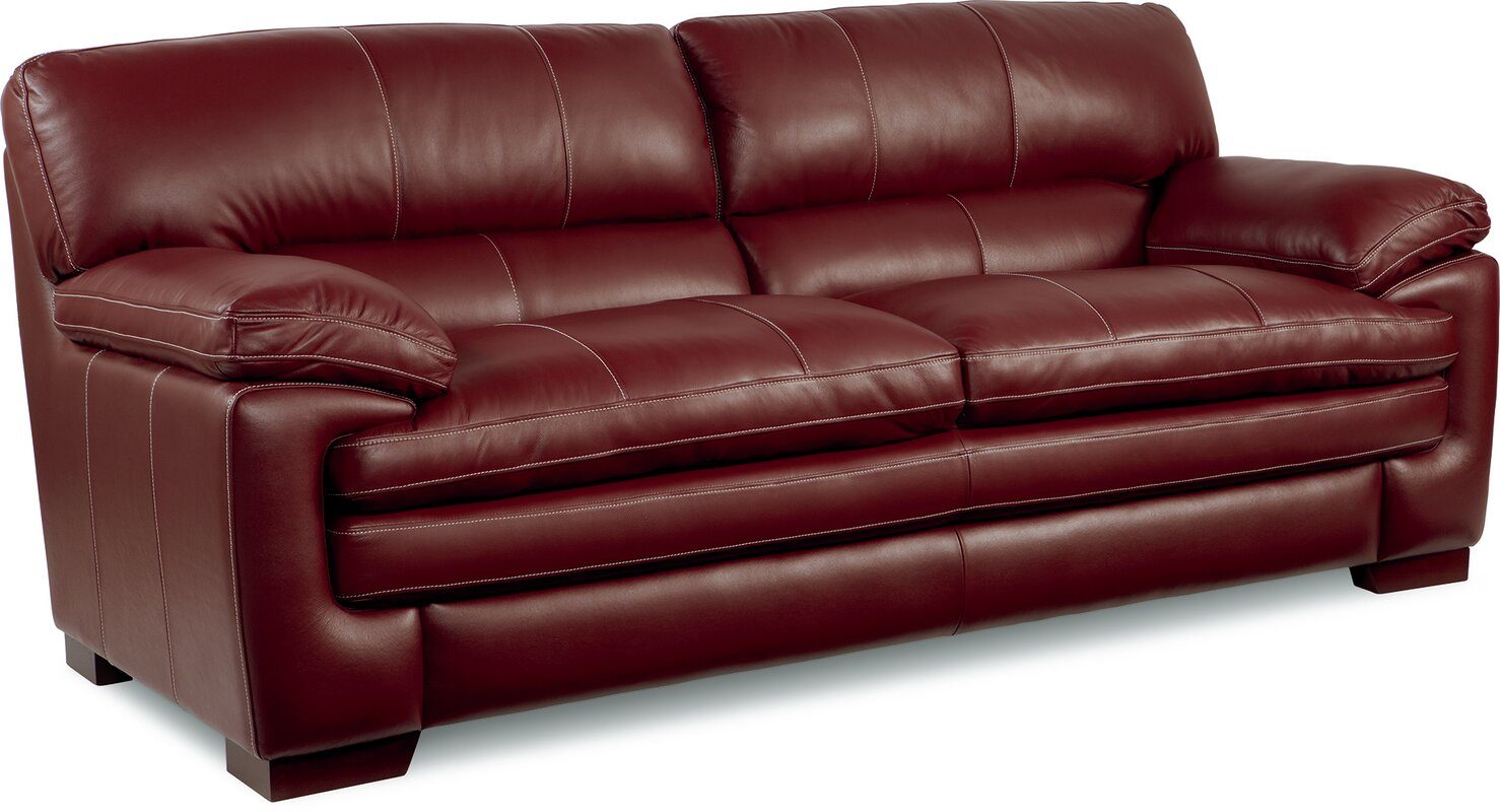 La-Z-Boy Dexter Leather Sofa & Reviews | Wayfair