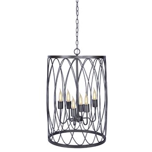 Grandview Gallery 6-Light Cylinder Pendant