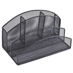 Rebrilliant Wire Mesh Desk Organizer