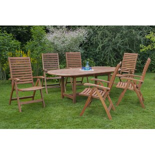 Faller 6 Seater Dining Set By Sol 72 Outdoor