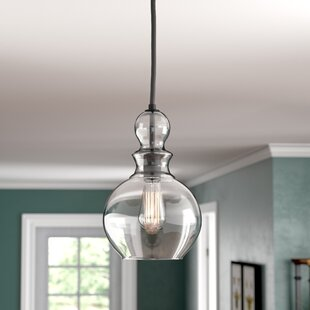Coraline 1-Light Globe Pendant by Andover Mills