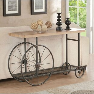 17 Stories Lechner Mobile Console Table