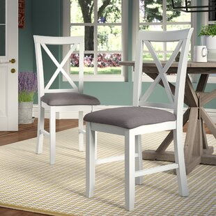 Amaury Upholstered Dining Chair (Set of 2) Laurel Foundry Modern Farmhouse