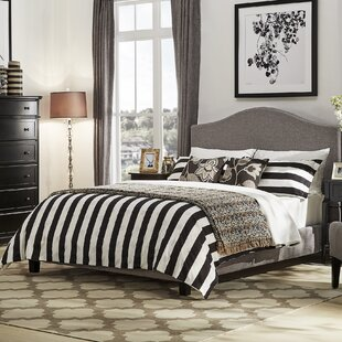 Read Reviews Eidelweiss Upholstered Panel Bed ByThree Posts