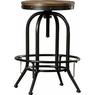 Dora Adjustable Height Bar Stool by Williston Forge