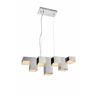 Orren Ellis Corbyn 7-Light LED Kitchen Island Pendant