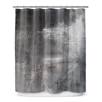 17 Stories Kala Darkness Single Shower Curtain