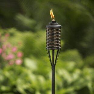 TIKI Brand Bali Metal Garden Torch (Set of 2)