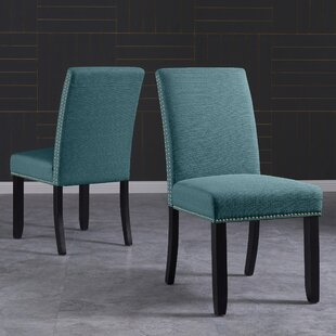 Rech Upholstered Dining Chair (Set of 2) Charlton Home